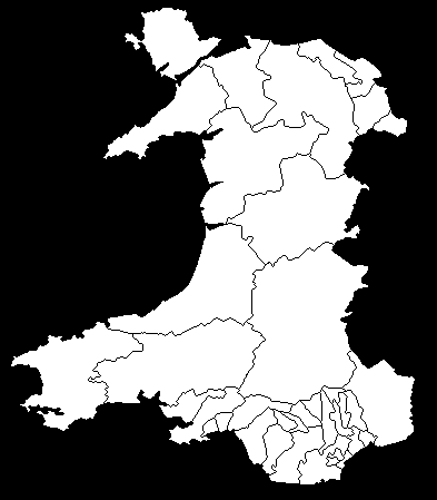 Welsh Constituencies 1950 - 1970