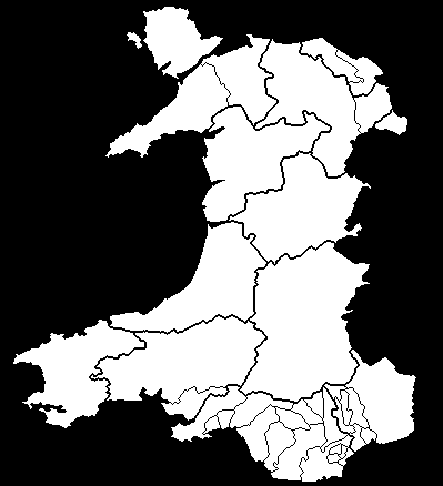 Welsh Constituencies 1974 - 1979