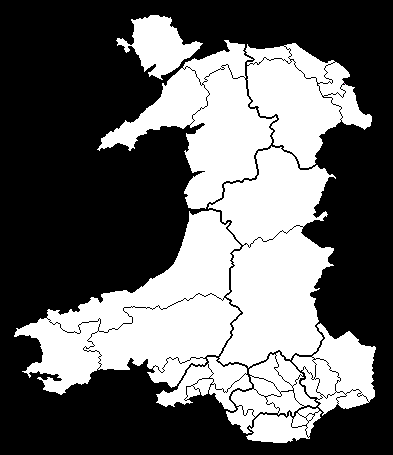 Welsh Constituencies 1983 - 1992