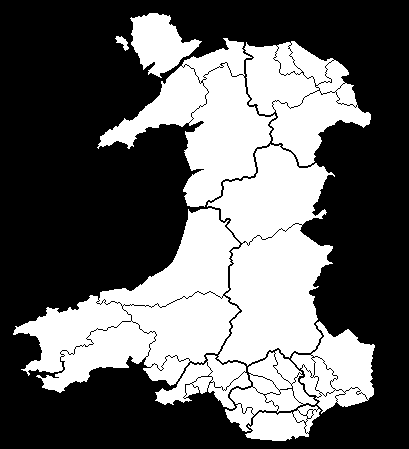 Wales Constituencies 1997 - 2005