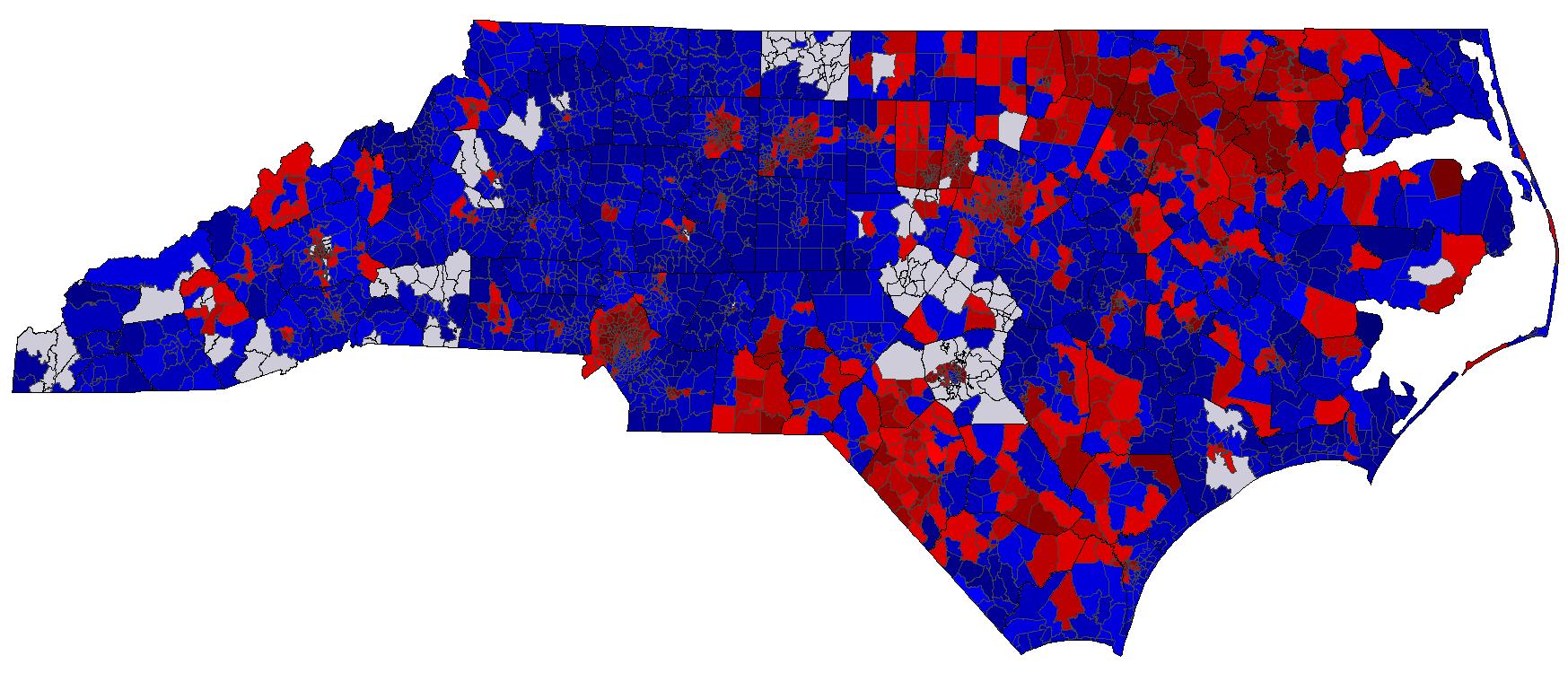 North Carolina Election Results by Precinct