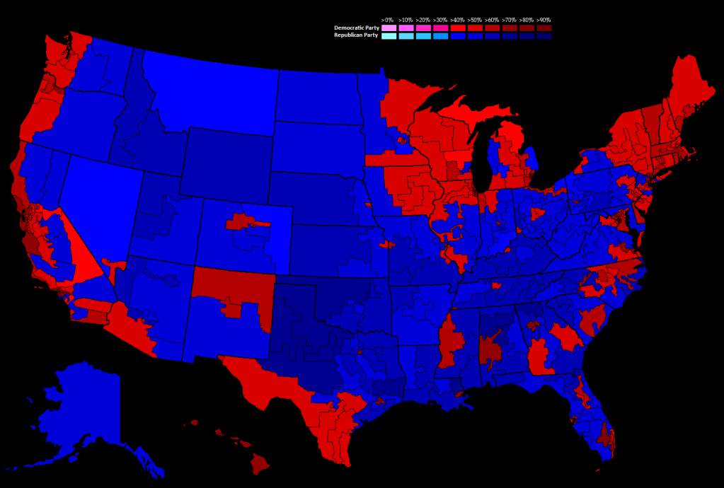 United States Presidential Election Wikipedia United States - Us map by congresina lolelection results