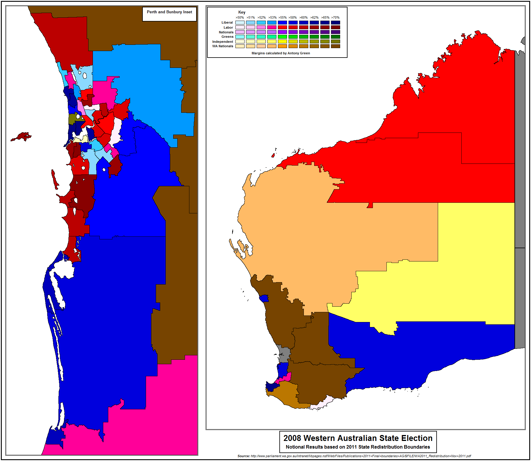 Looking For Large AustralianCanadian Electoratesridings Templates - 2008results us elections map