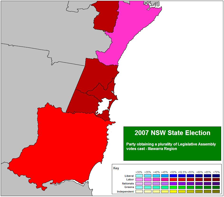 State primary dates in Australia