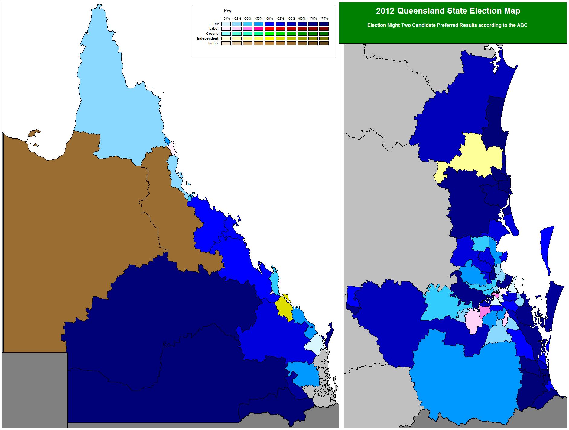 Queensland (Australia) 2012