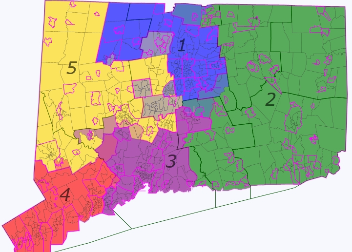 deviation is 49 persons and exact equality would only require shifts within the existing split towns the shift would allow the small tentacle of cd 3