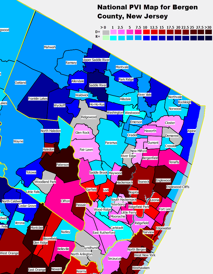 Wholl Win Bergen County New Jersey - Map of bergen county nj