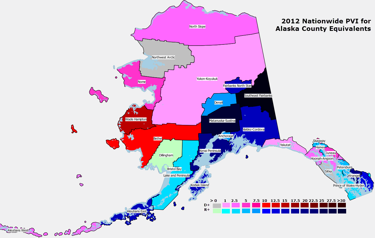 Alaska dillingham county - The Northwest Arctic Kotzebue And Dillingham Census Areas Are National Pvi Bellwethers At Least For Now Bush Alaska Has Been Trending Away From