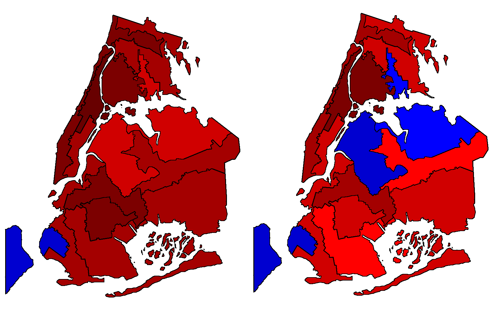 And Elections By Congressional Districts - New york city election district map
