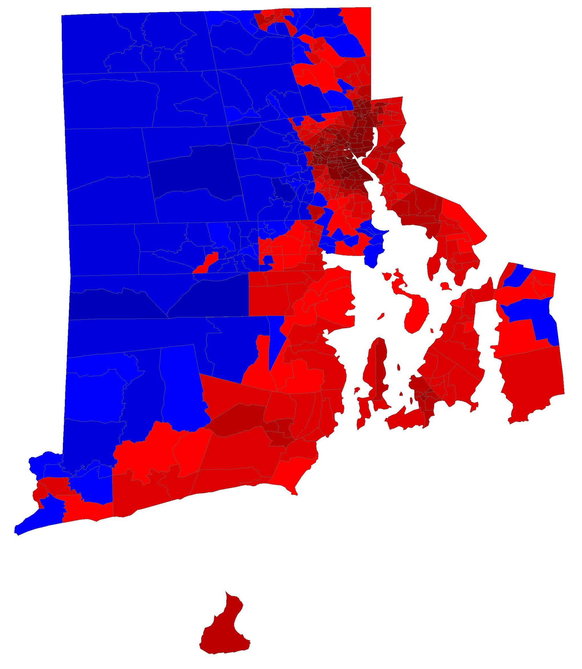 RIs Precinct Map Thread - 2016 us presidential election precint map