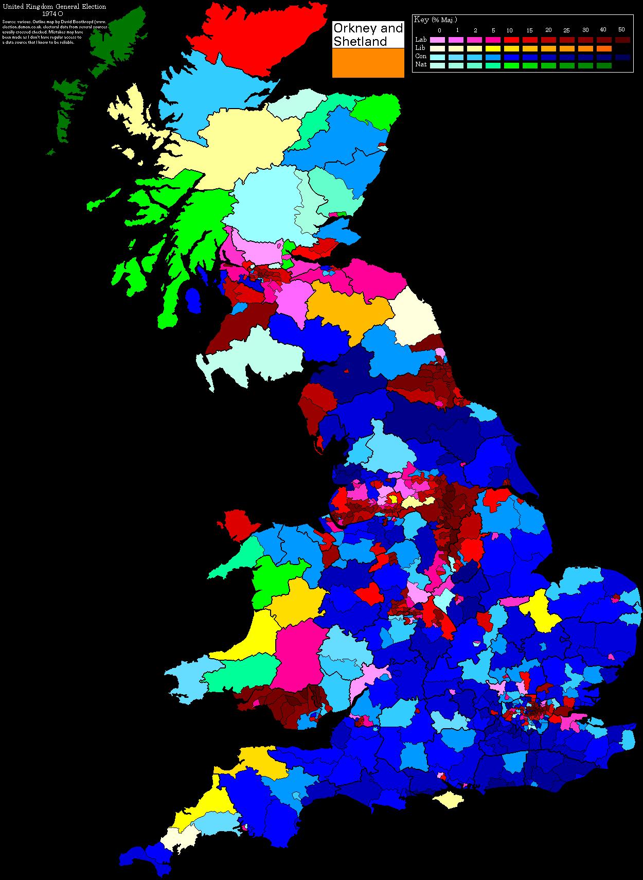 print page uk election maps
